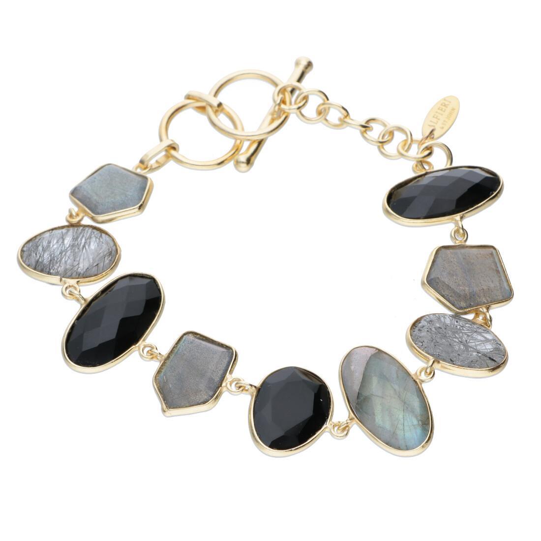 Bracciale in argento 925 con pietre colorate - ALFIERI & ST. JOHN 925