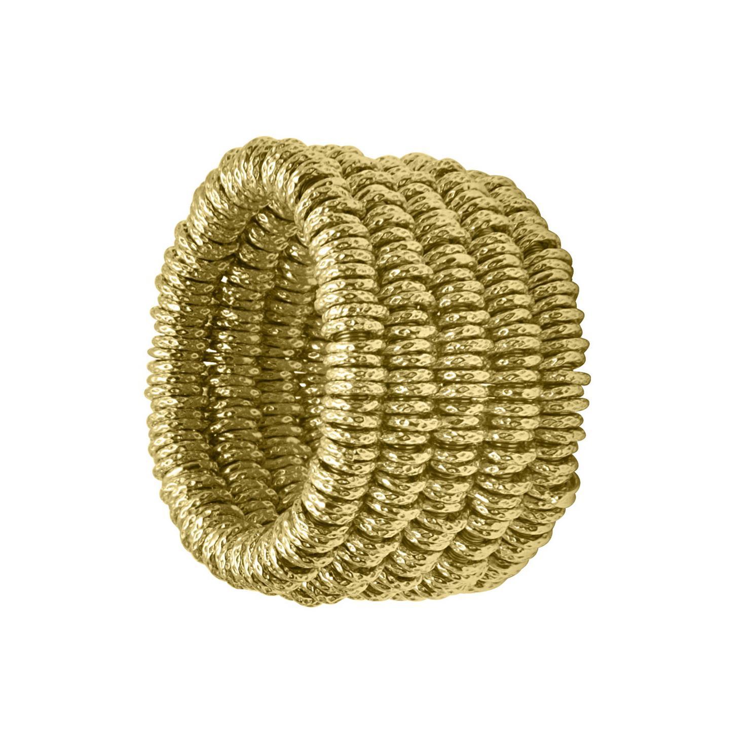 Anello elastico in oro - ROBERTO DEMEGLIO