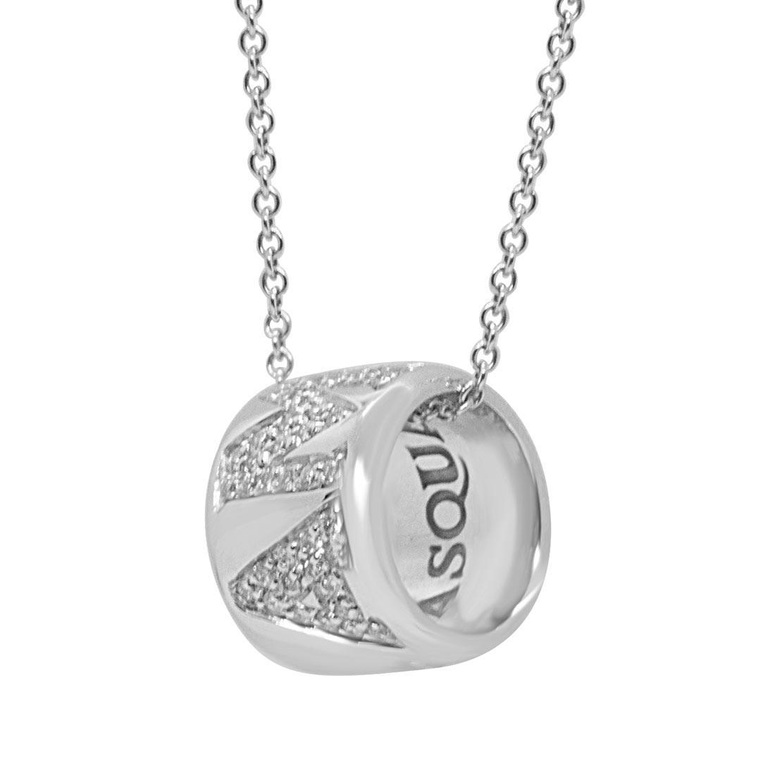Collana in oro bianco e diamanti - PASQUALE BRUNI