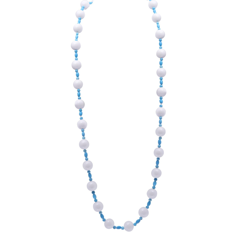 Collana con perle e pietre dure turchese - RIVIK