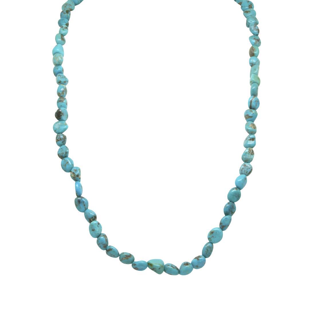 Collana in perle e pietre semipreziose - RIVIK