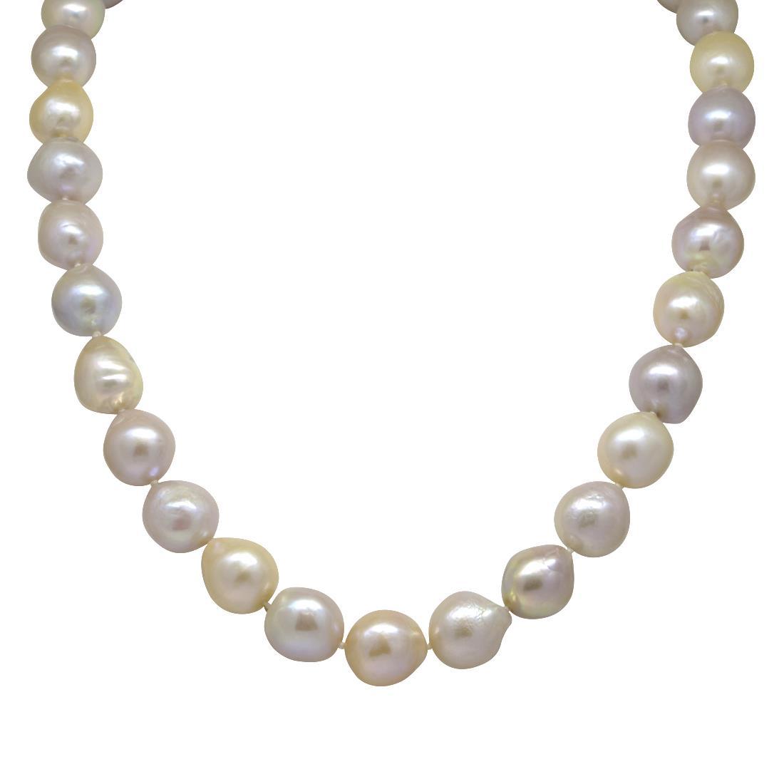 Collan di perle multicolor - RIVIK