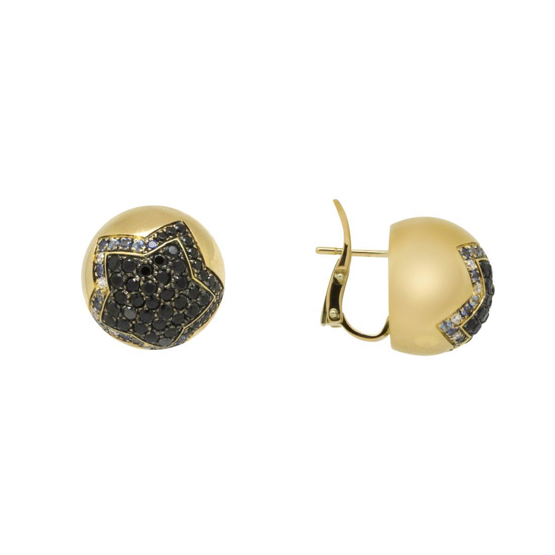 Orecchini in oro con diamanti ct. 0,12 - PASQUALE BRUNI