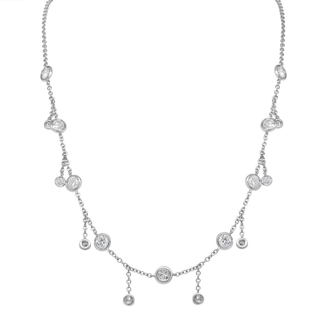 Collana design con diamanti ct. 2,89 - ALFIERI & ST. JOHN