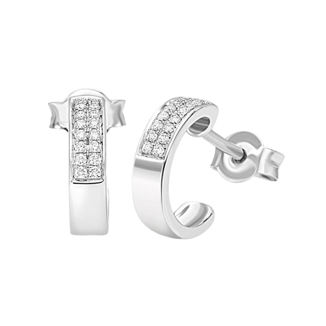 Orecchini on diamanti ct. 0,10 - BLISS