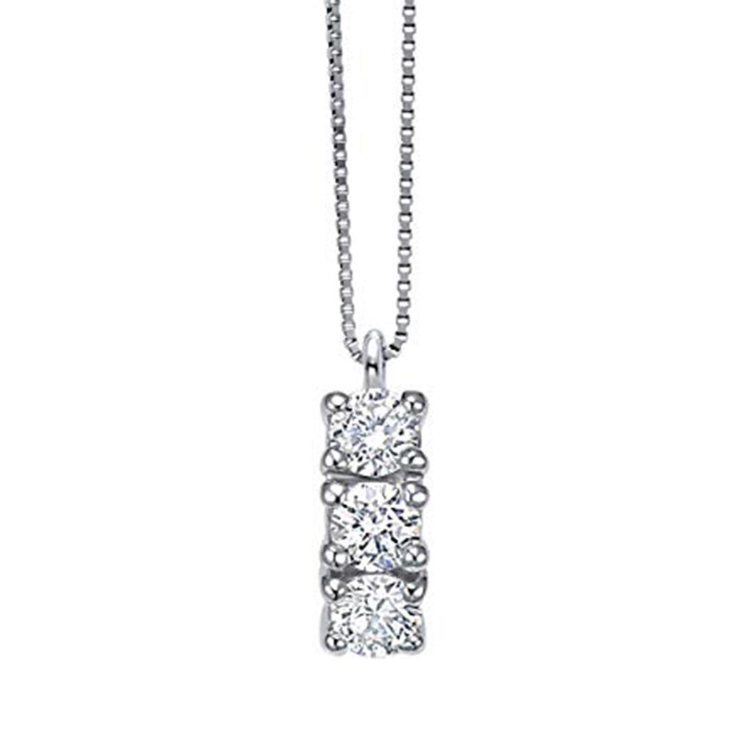 Collana con diamanti ct. 0,39 - BLISS