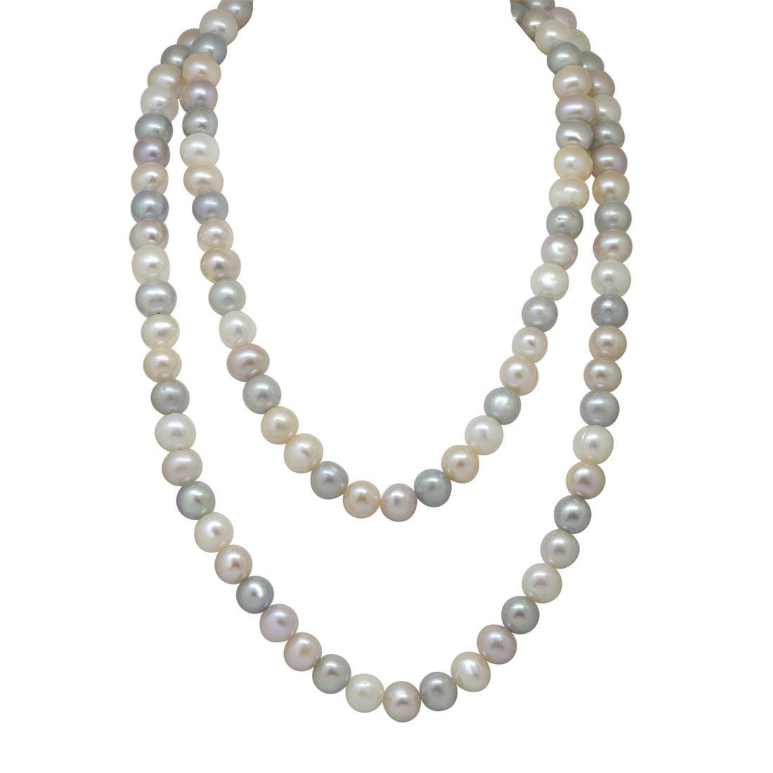 Collana in oro con perle - RIVIK