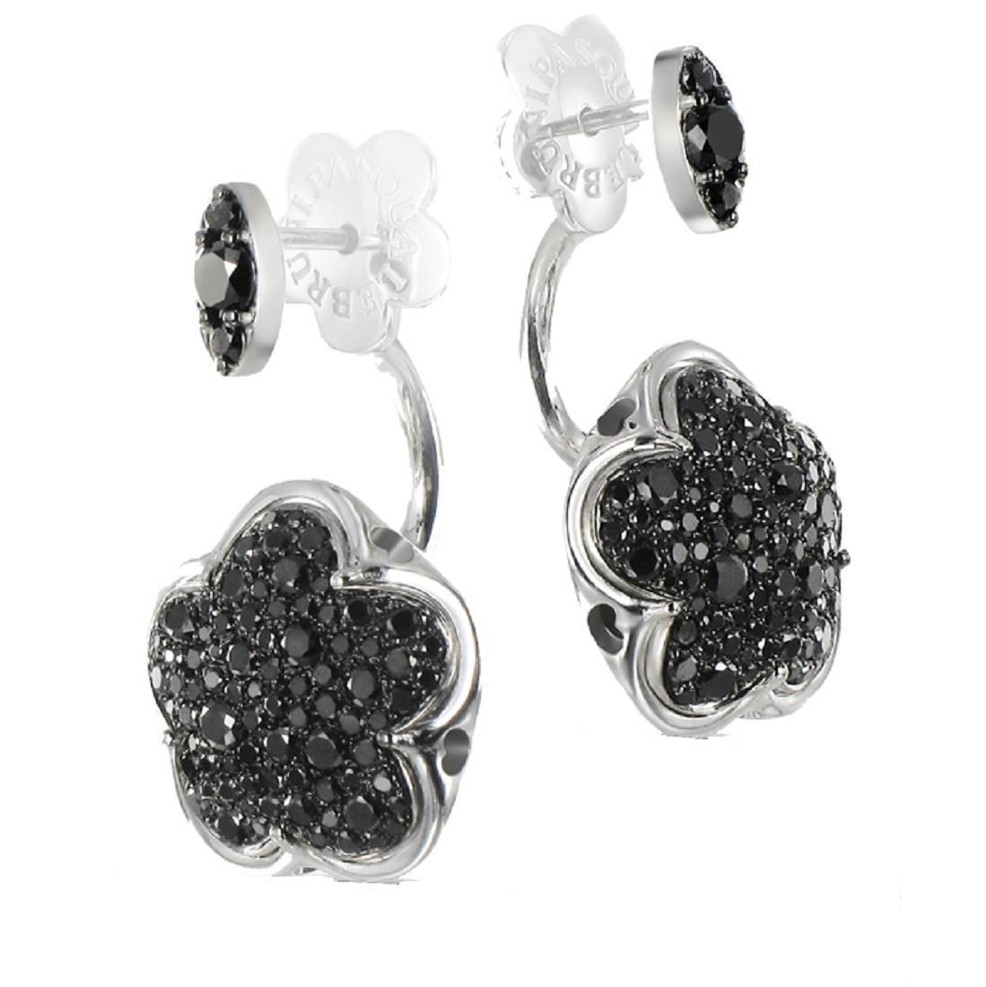 Orecchini con diamanti neri - PASQUALE BRUNI
