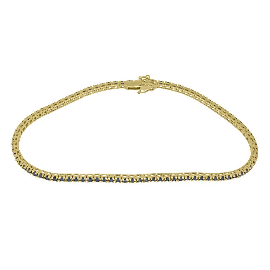Bracciale tennis in oro rosa con diamanti ct 1.35 - ALFIERI & ST. JOHN