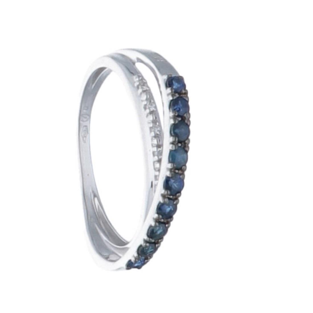 Anello con zaffiri e diamanti - BLISS