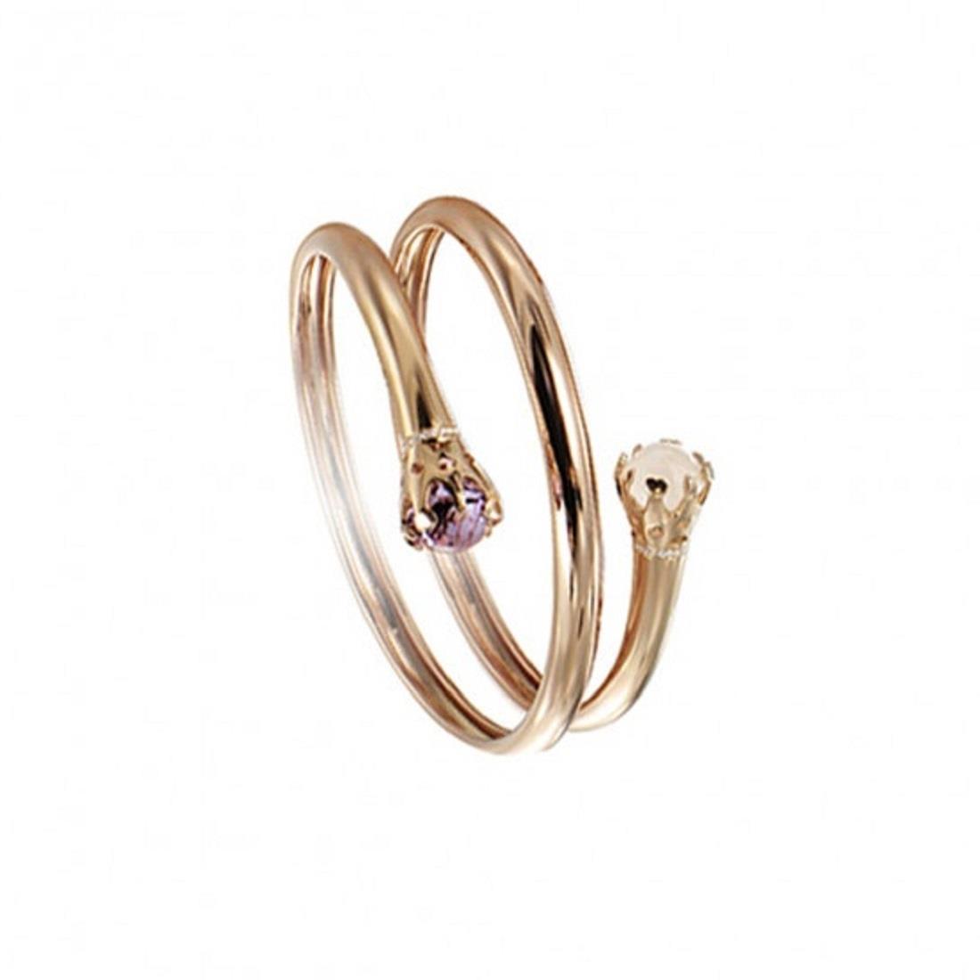 Bracciale design con diamanti - PASQUALE BRUNI