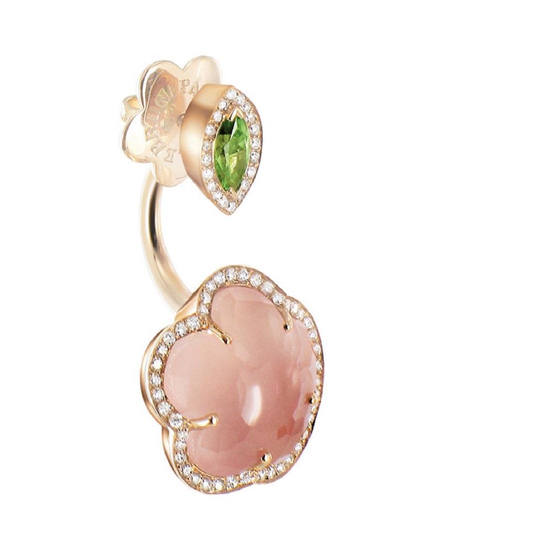 Monoorecchino design con diamanti - PASQUALE BRUNI