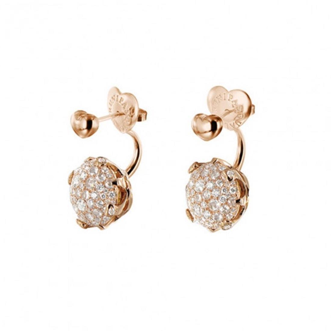 Orecchini design con diamanti - PASQUALE BRUNI