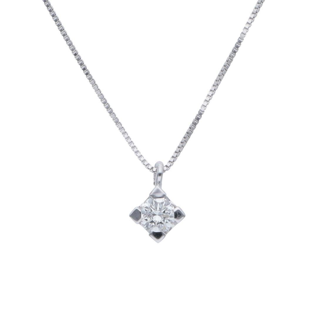 Point of light necklace ct. 0.23 - ALFIERI & ST. JOHN