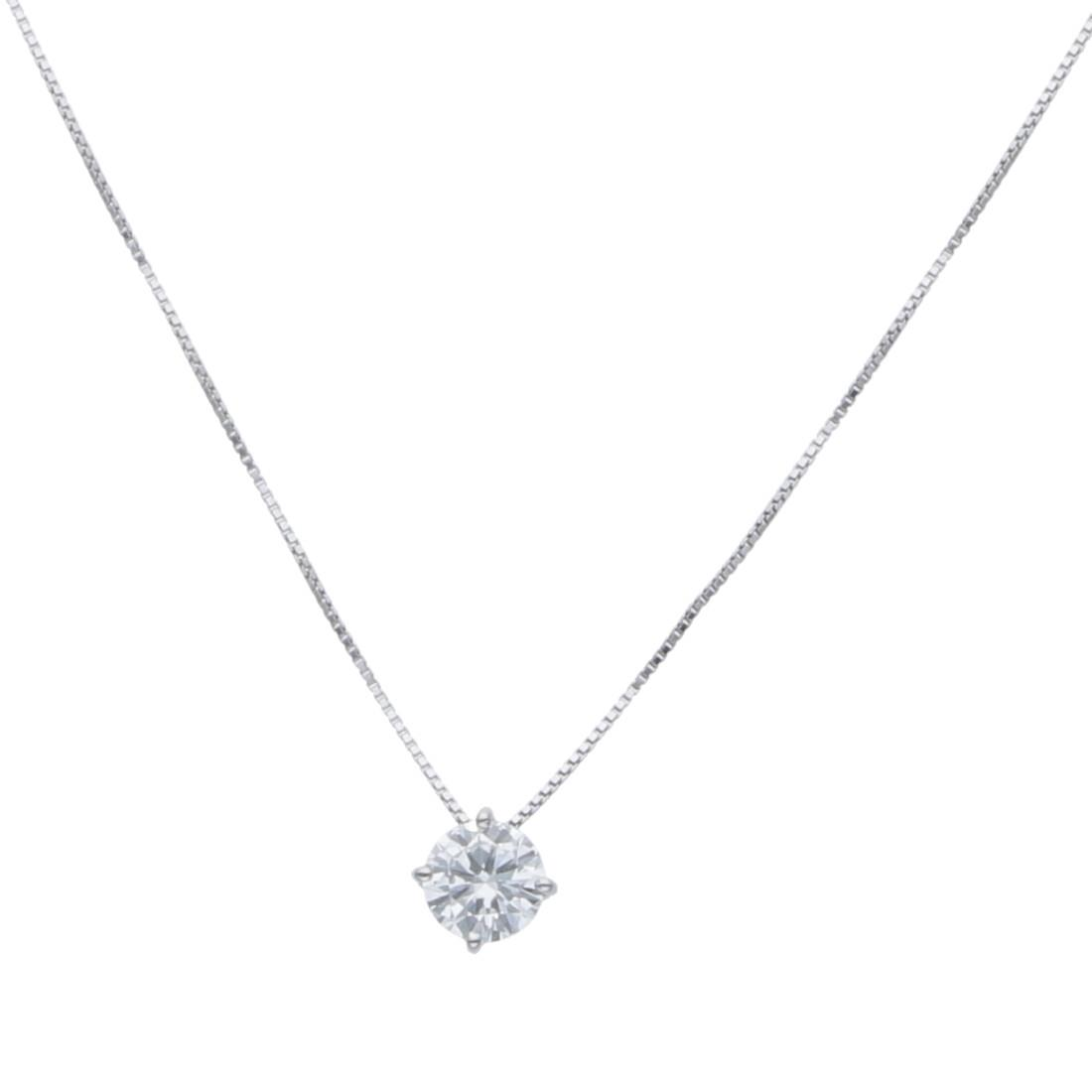 Collana punto luce con diamanti ct. 0,72 - ALFIERI & ST. JOHN