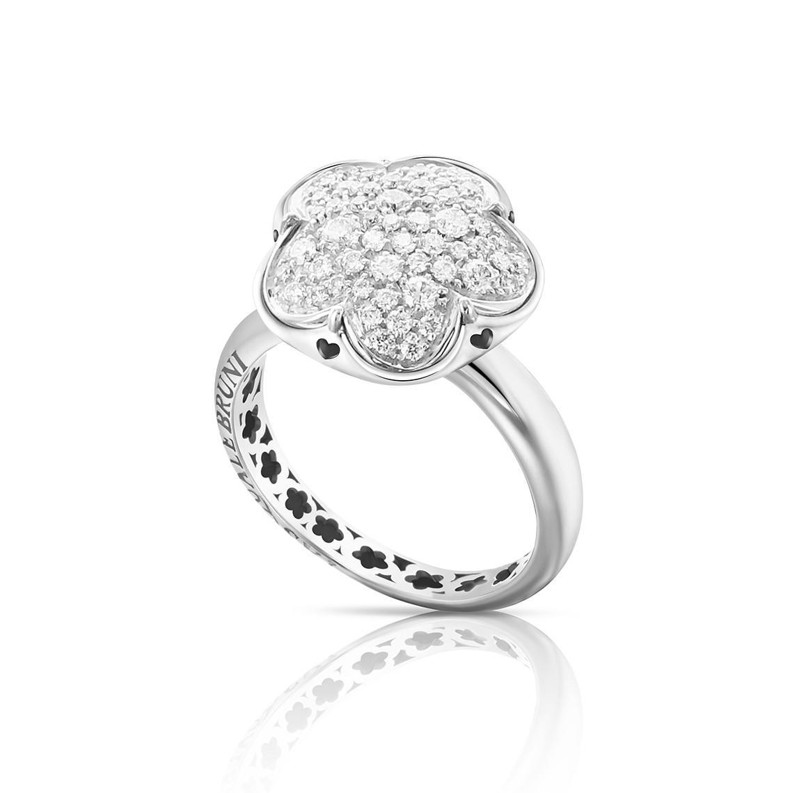 Anello design con diamanti - PASQUALE BRUNI