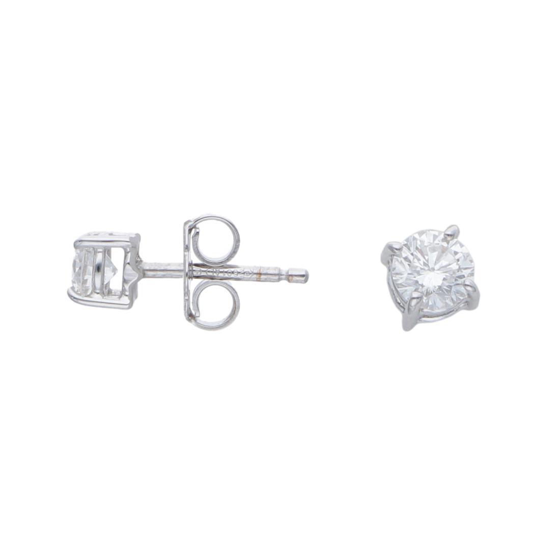 Orecchini punto luce con diamanti ct 0,45 - ALFIERI & ST. JOHN