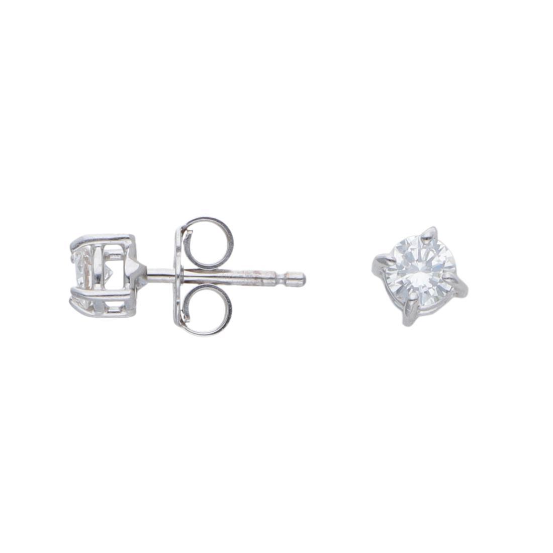 Orecchini punto luce con diamanti ct 0,3 - ALFIERI & ST. JOHN