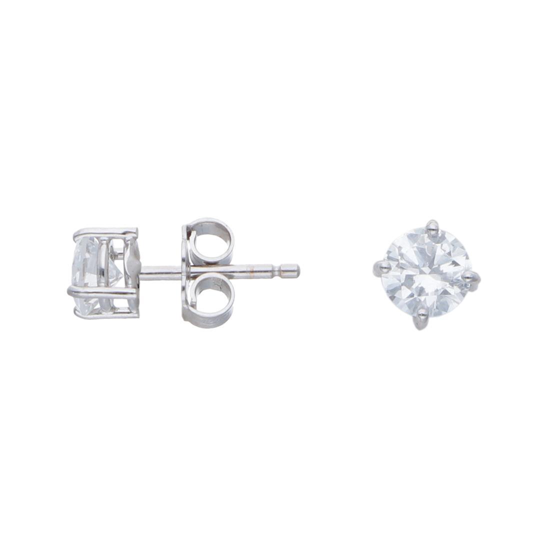 Orecchini punto luce con diamanti ct 1 - ALFIERI & ST. JOHN