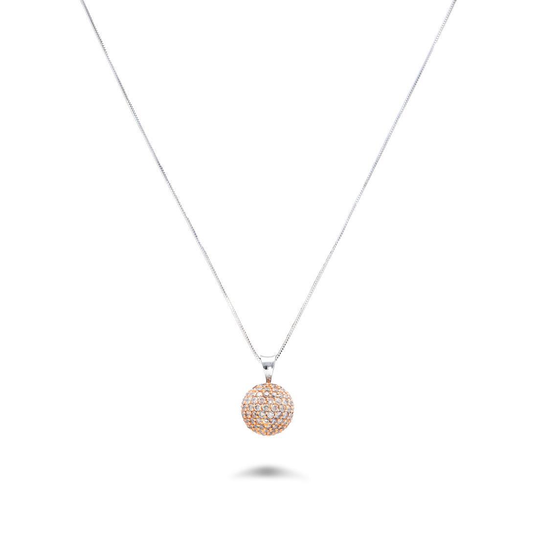 Collana con diamanti brown - ROBERTO DEMEGLIO