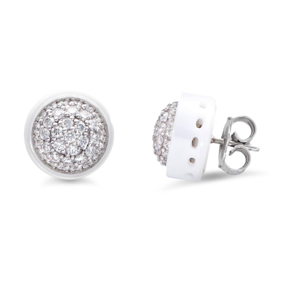 Pendientes con diamantes - ROBERTO DEMEGLIO