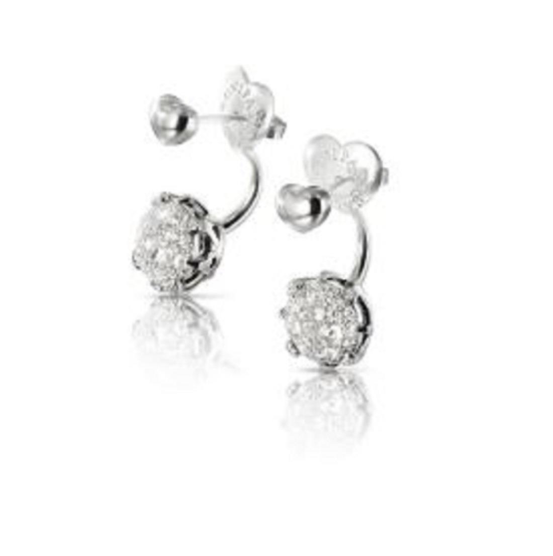 Orecchini con diamanti - PASQUALE BRUNI