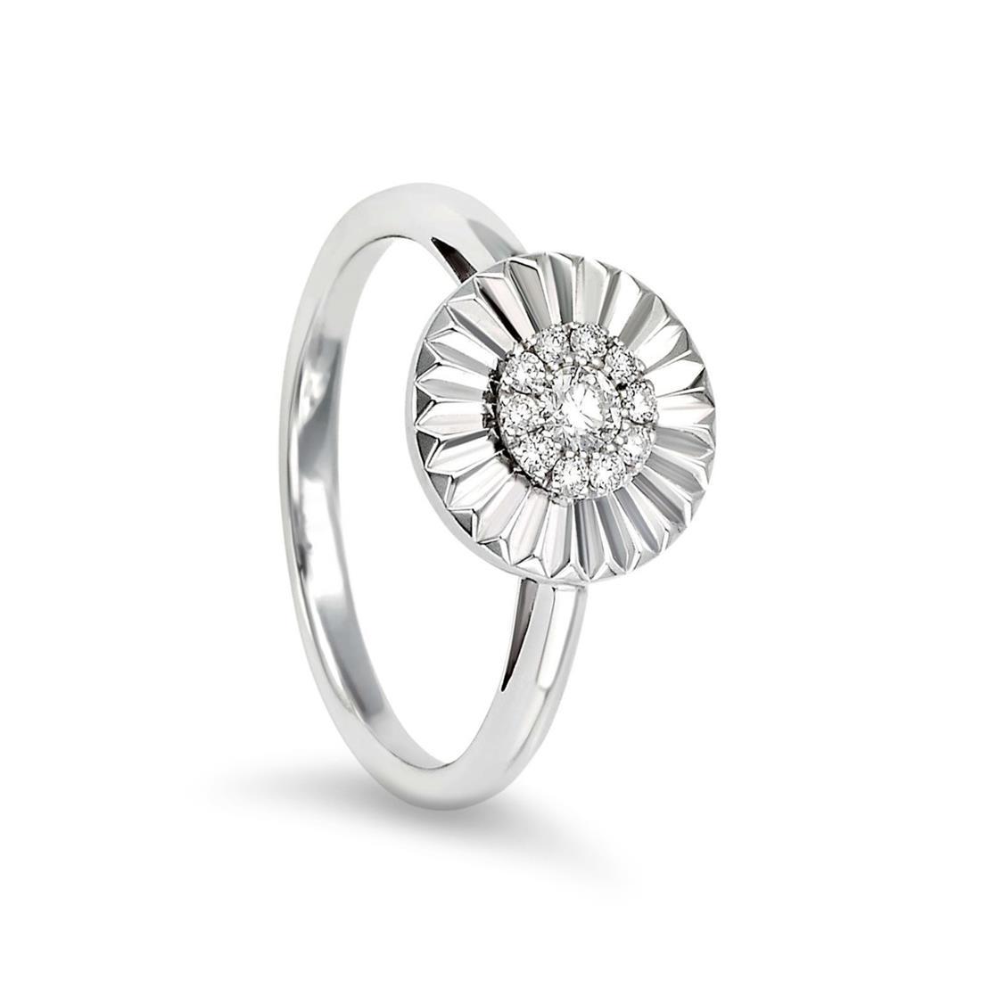 Anello con pavè di diamanti - BLISS
