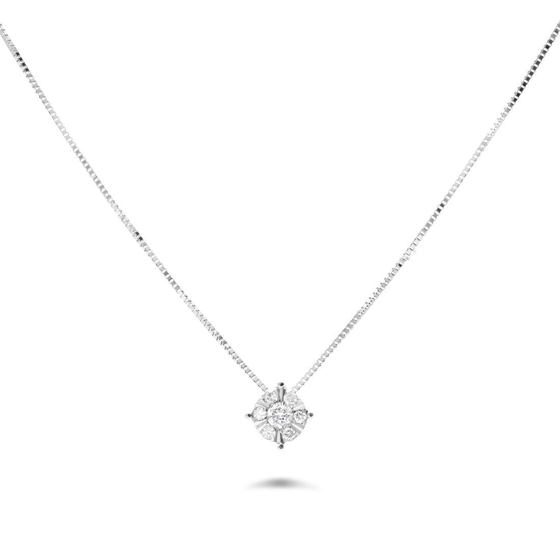 Collana con diamanti - ORO&CO