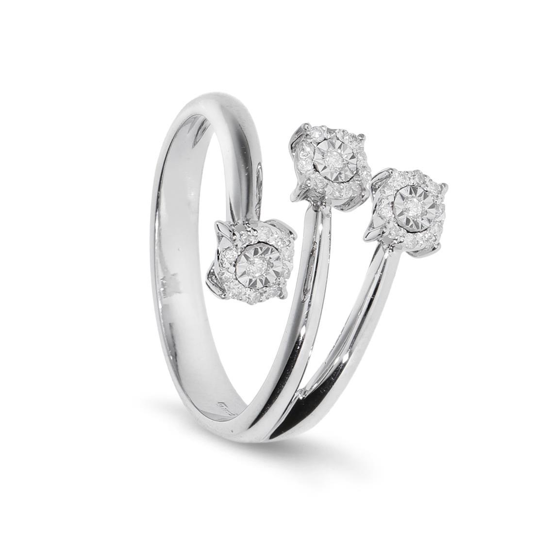 Anello con diamanti - ORO&CO