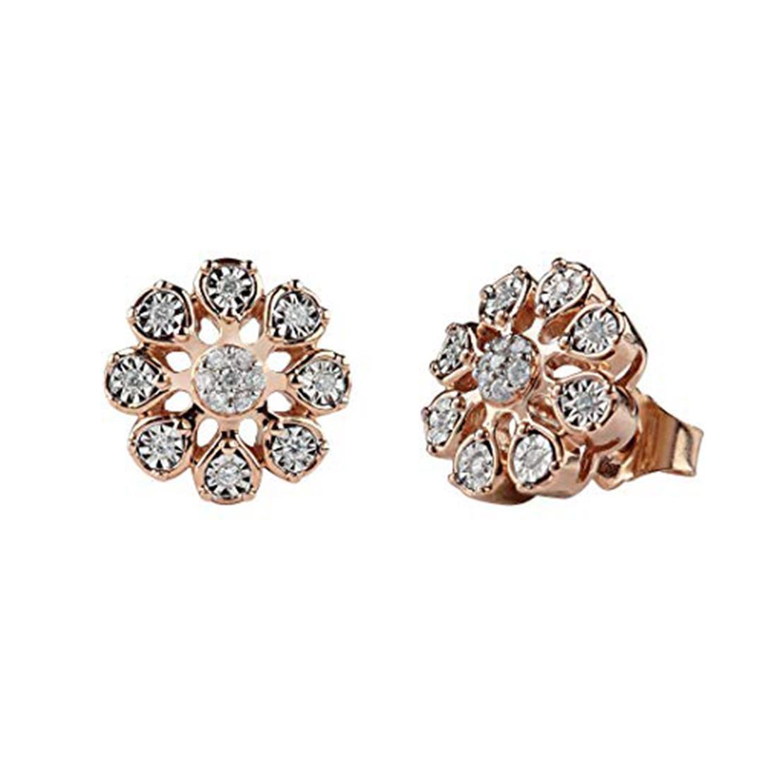 Orecchini con diamanti ct. 0,15 - BLISS