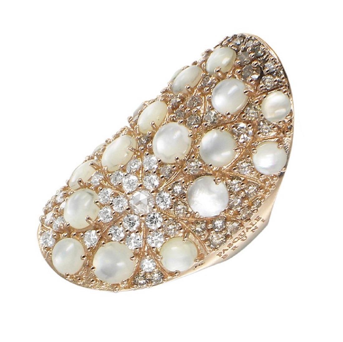 Anello con perle e diamanti - PASQUALE BRUNI