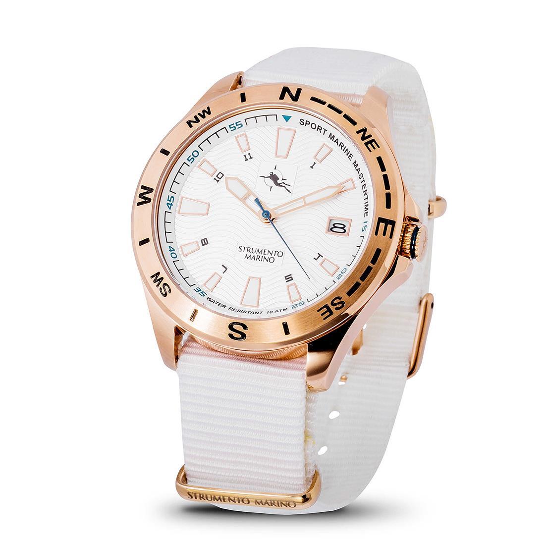 Reloj para hombre con caja de 45 mm - STRUMENTO MARINO