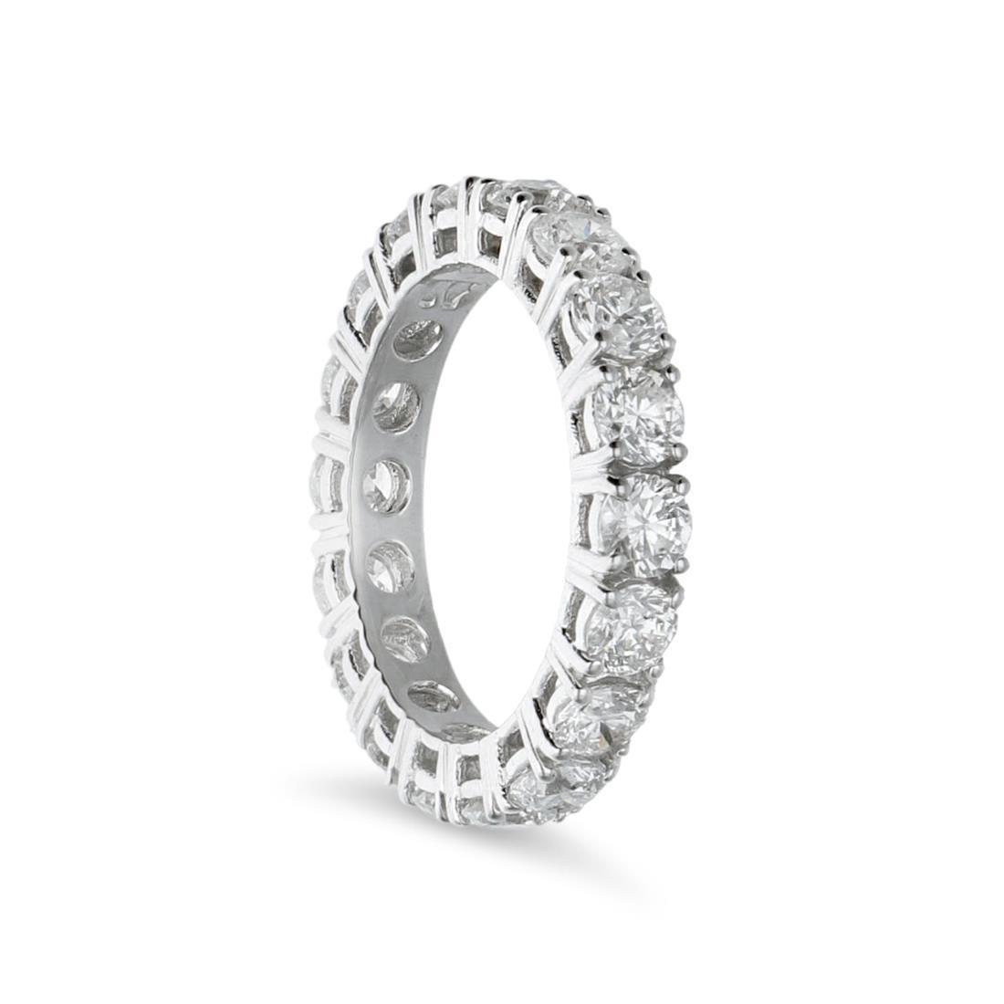 Anello eternity con diamanti - ALFIERI & ST. JOHN