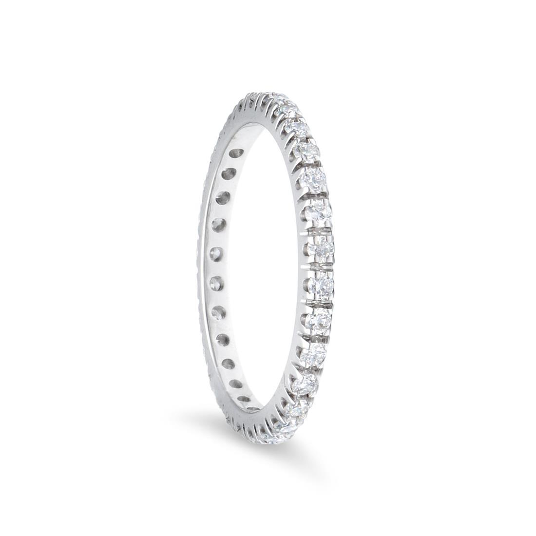 Anello eternity con diamanti - LUXURY ZONE