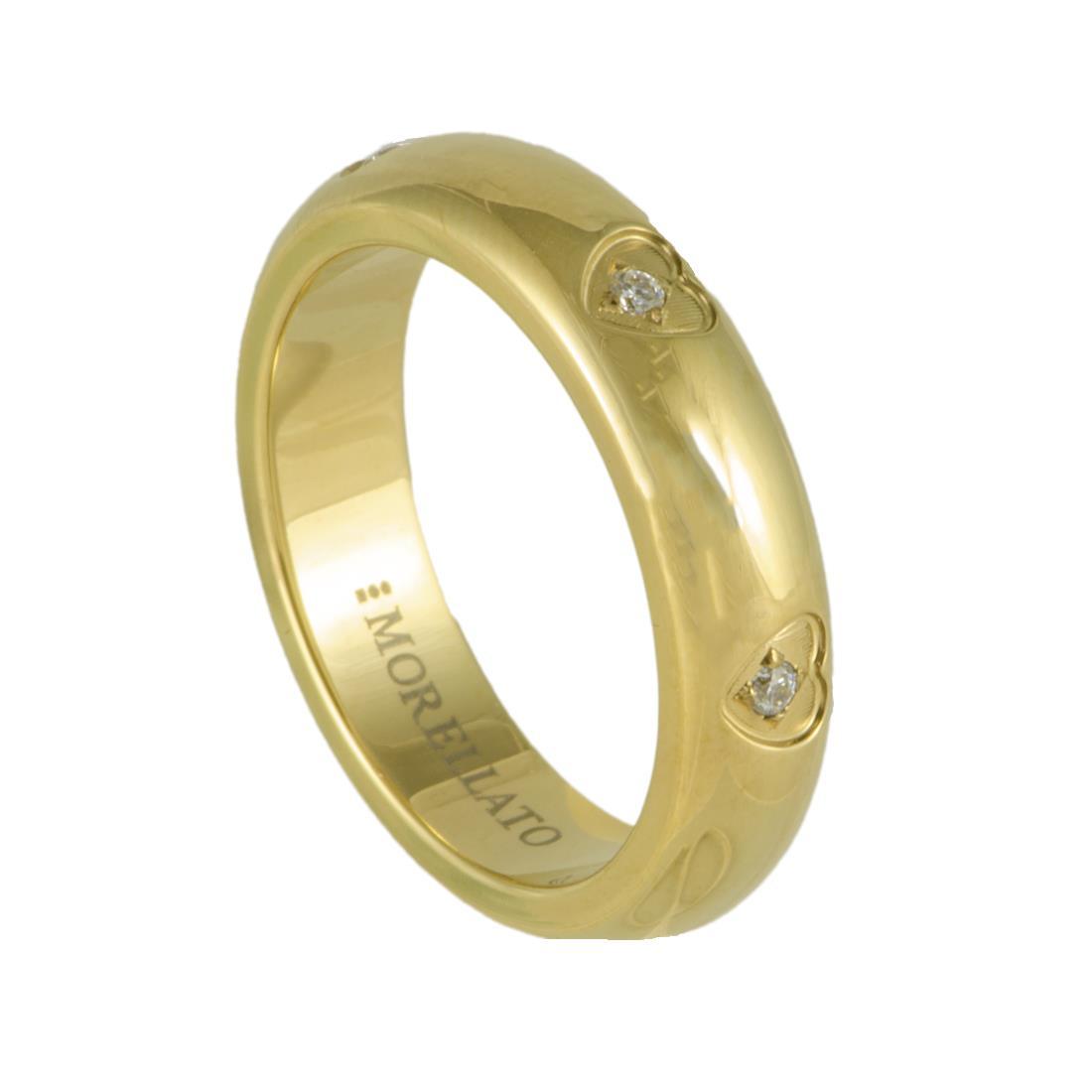 LOVE RINGS AN.CUORE GOLD PVD MIS 16 - MORELLATO