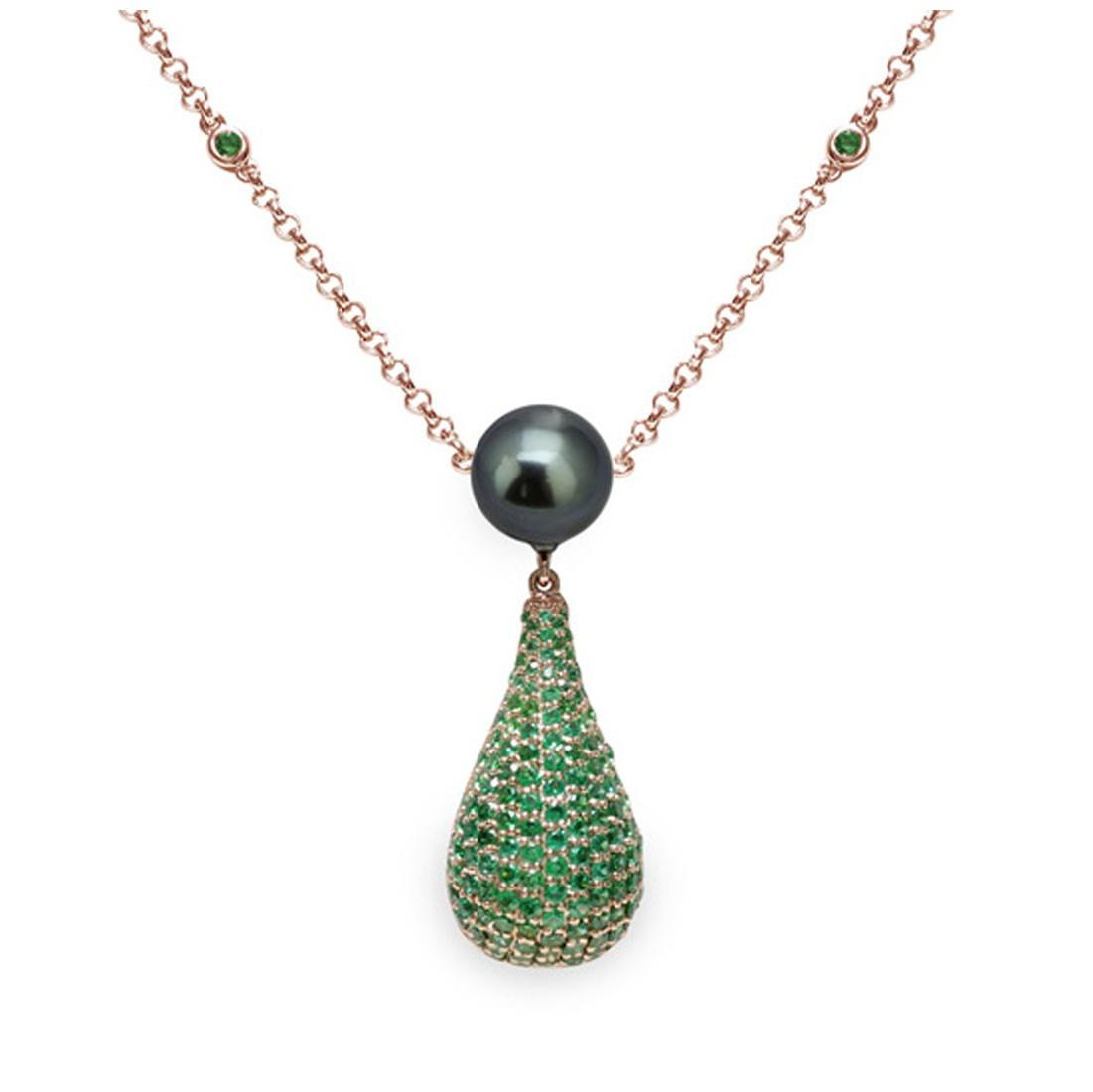 Collana con perla Tahiti - MAYUMI