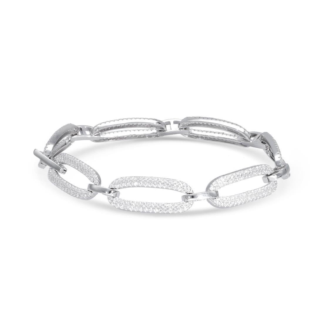 Bracciale catena in argento - ORO&CO 925