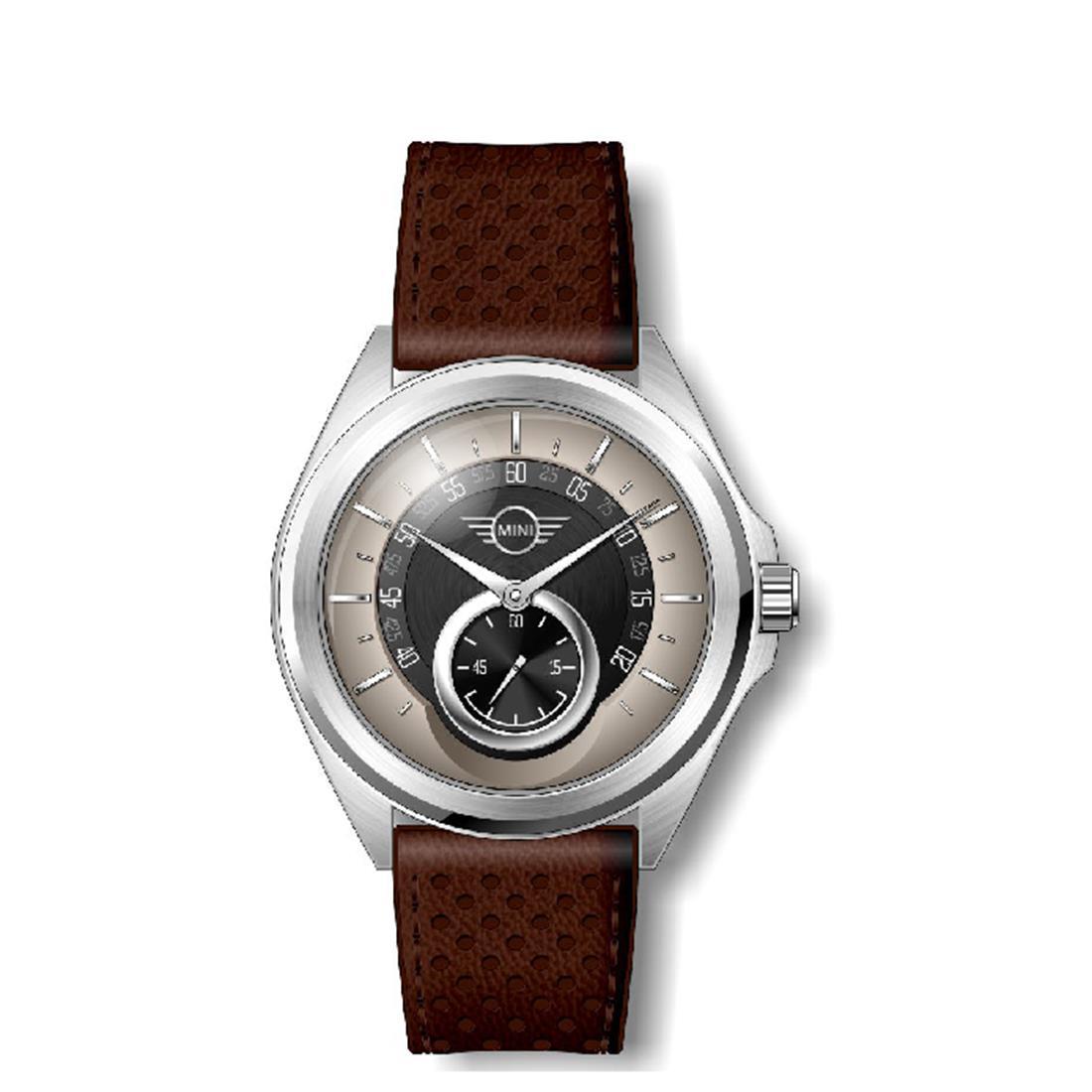 Orologio da uomo con cassa in acciaio inossidabile di diametro 44 mm - MINI