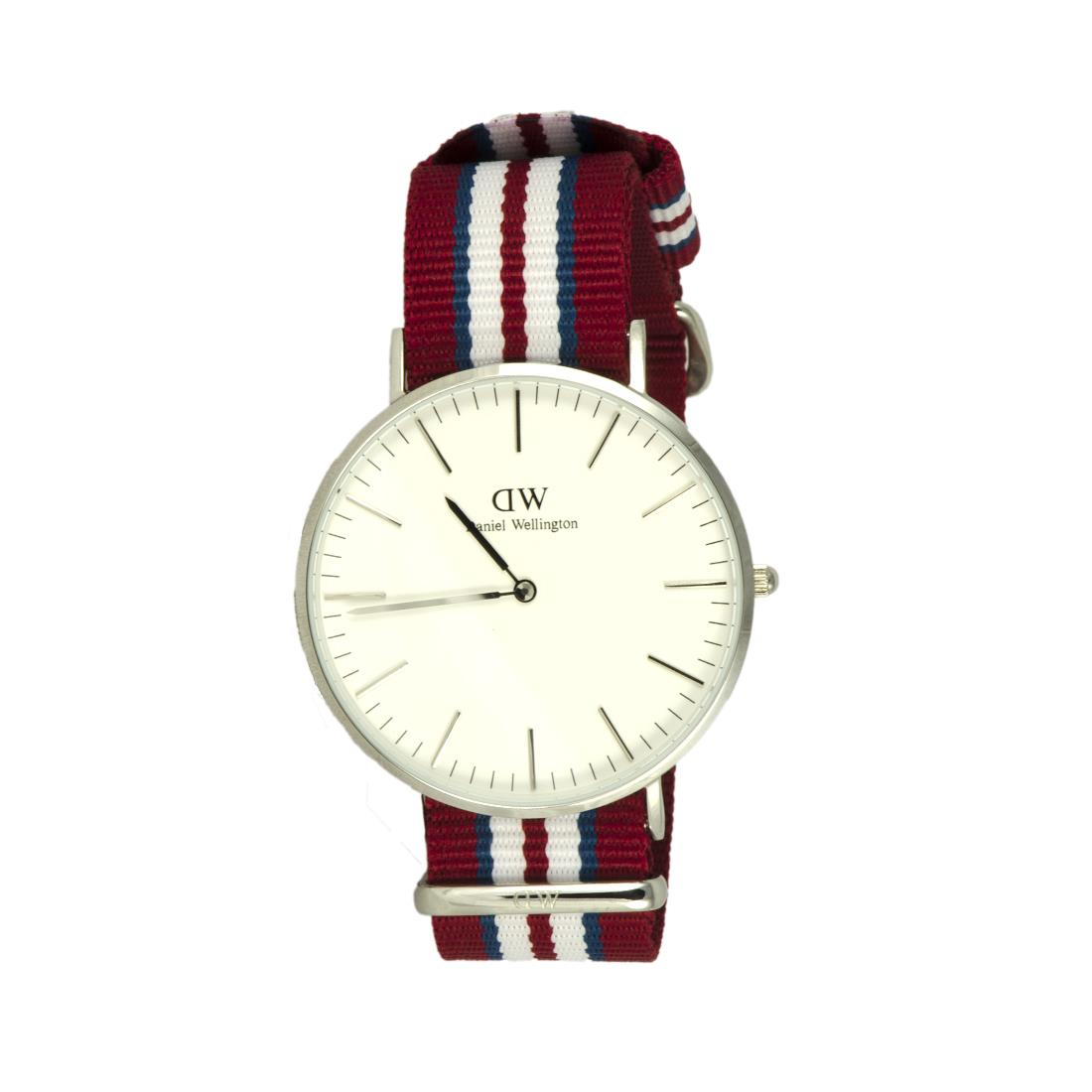 OROLOGIO EXETER SILVER 40 MM - DANIEL WELLINGTON