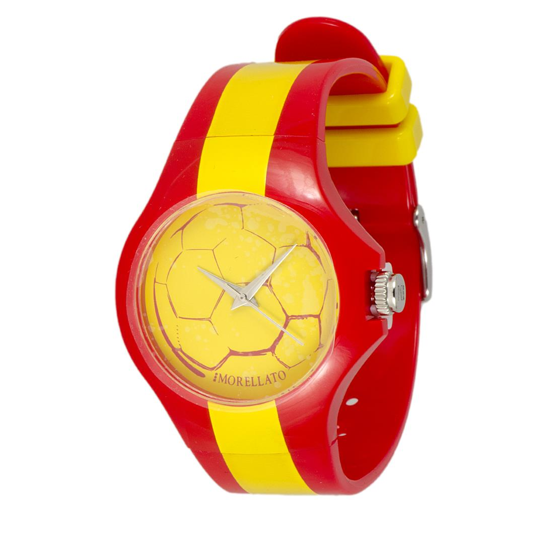 COLOURS 3H WORLD CUP 36MM YELL DIAL PU - MORELLATO