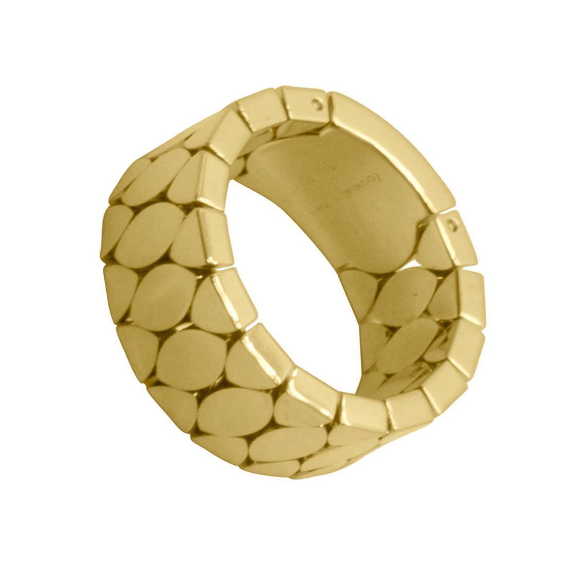 Anello in oro giallo mis 14 - PASQUALE BRUNI