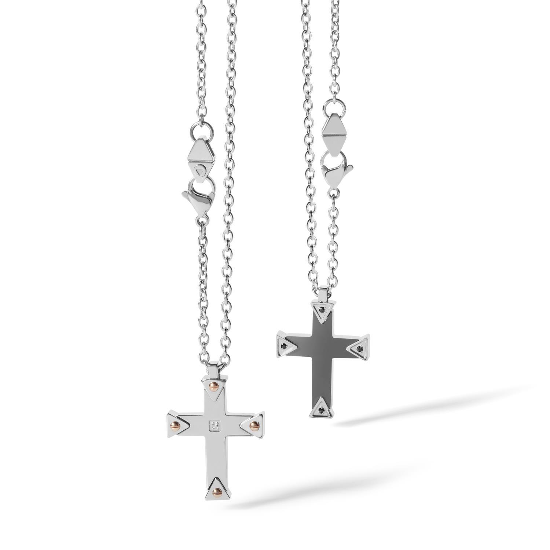Necklace with cross - ALFIERI & ST. JOHN