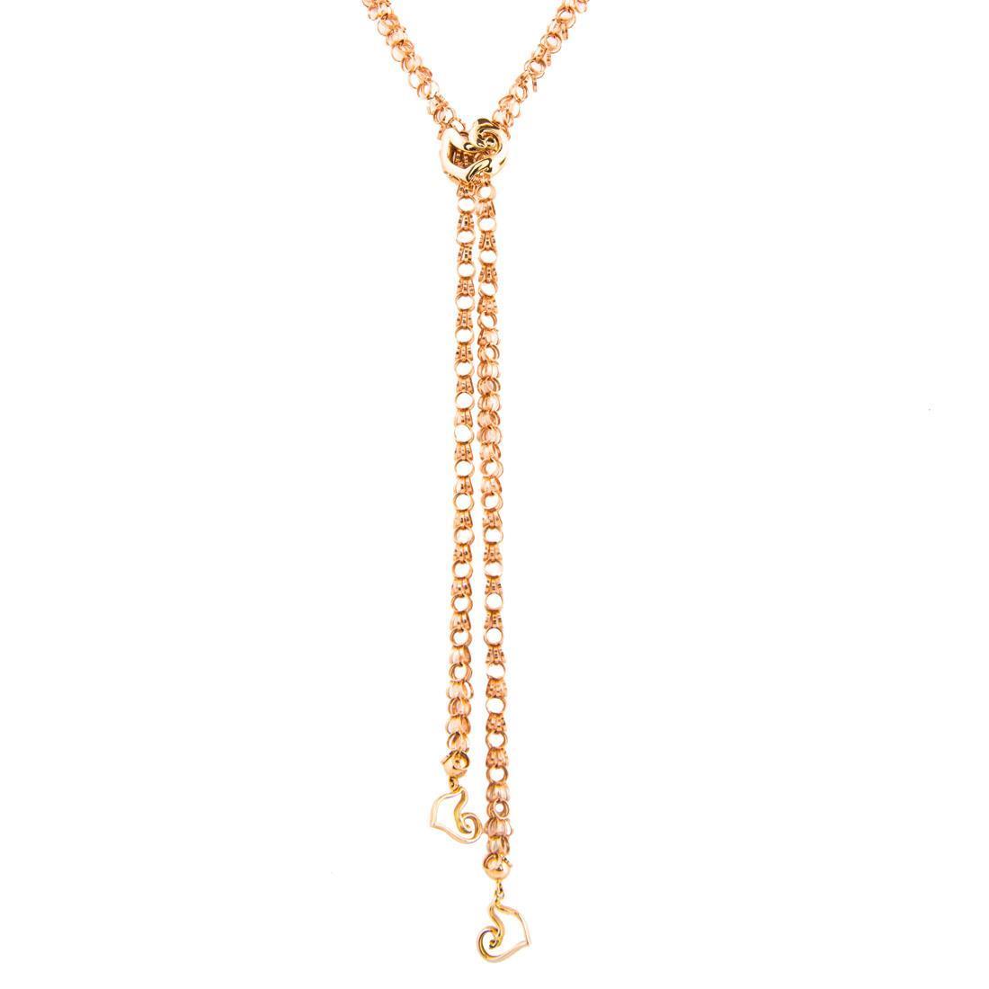 Collana in oro rosa - CHANTECLER