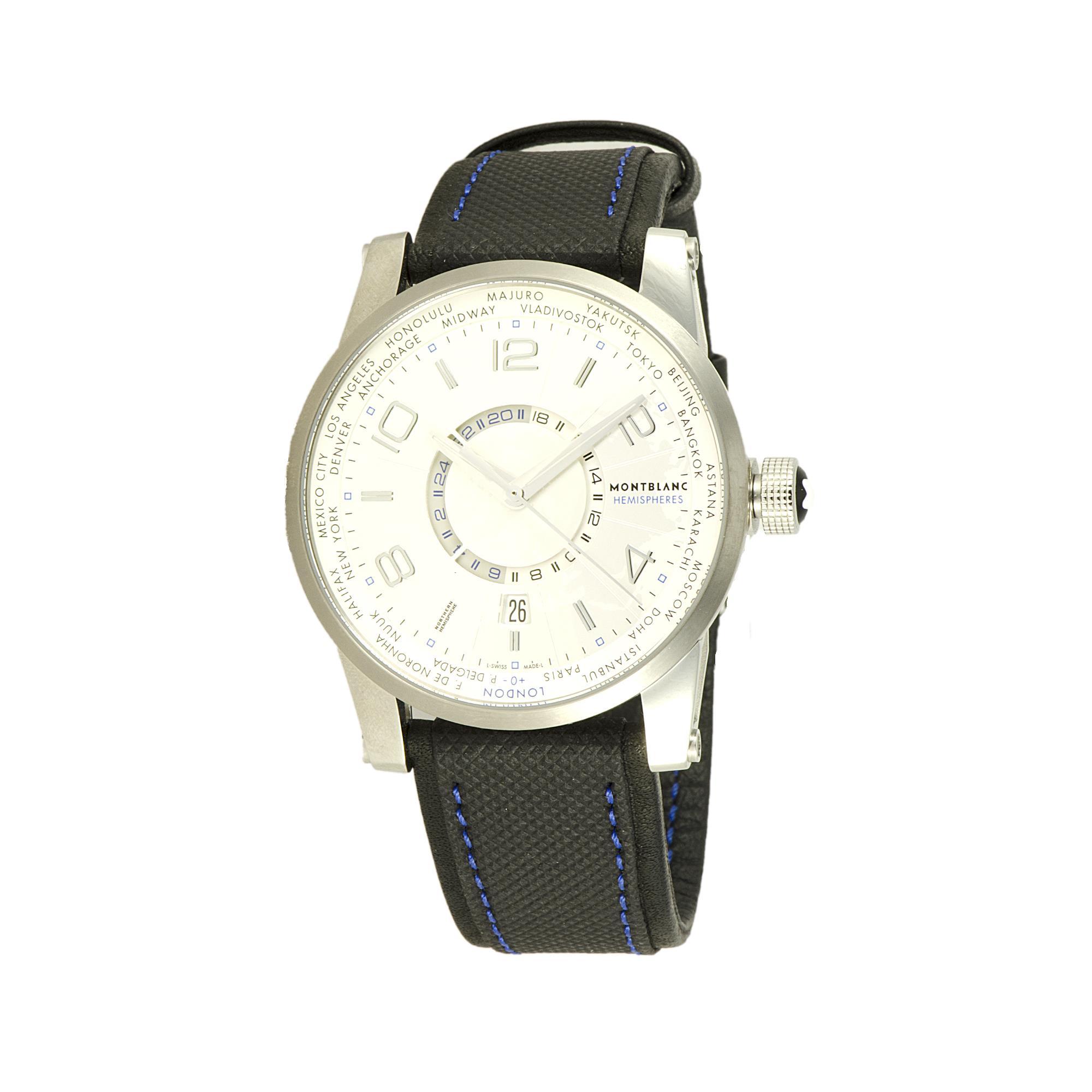 OROLOGIO MONTBLANC TIMEWALKER WORLD-TIME HEMISPHERES  - MONTBLANC