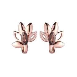 Orecchini misura grande in oro rosa - ALFIERI & ST. JOHN