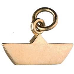 Ciondolo barchetta in oro giallo da 2 g - DODO