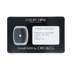Diamante blisterato 0.07 ct - ORO&CO