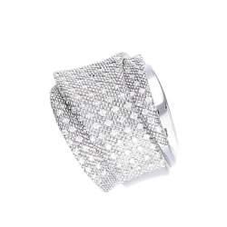 Anello Pasquale Bruni con diamanti ct 0,77 mis 17 - PASQUALE BRUNI