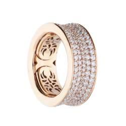 Anello in oro con diamanti - ALFIERI & ST. JOHN