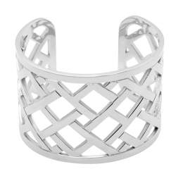 Bracciale Tommy Hilfiger in acciaio con pattern - TOMMY HILFIGER
